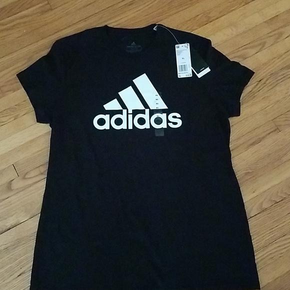adidas Other - Adidas Black and White Shortsleeve Tee